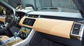 2018 Range Rover Sport at Dubai Motor Show 2017 dashboard