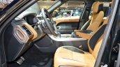 2018 Range Rover Sport at Dubai Motor Show 2017 front seats