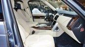 2018 Range Rover at Dubai Motor Show 2017 front seat
