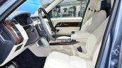2018 Range Rover at Dubai Motor Show 2017 front seats
