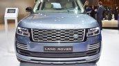 2018 Range Rover at Dubai Motor Show 2017 front view