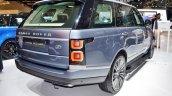 2018 Range Rover at Dubai Motor Show 2017 rear angle