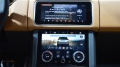 2018 Range Rover (facelift) SVAutobiography Dynamic TouchPro Duo infotainment system at 2017 Dubai Motor Show