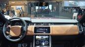 2018 Range Rover (facelift) SVAutobiography Dynamic dashboard at 2017 Dubai Motor Show