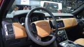 2018 Range Rover (facelift) SVAutobiography Dynamic dashboard left side view at 2017 Dubai Motor Show
