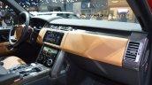 2018 Range Rover (facelift) SVAutobiography Dynamic dashboard side view at 2017 Dubai Motor Show