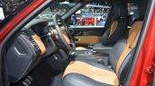 2018 Range Rover (facelift) SVAutobiography Dynamic front seats at 2017 Dubai Motor Show