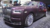 2018 Rolls-Royce Phantom EWB front three quarters at 2017 Dubai Motor Show