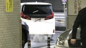 2018 Toyota Alphard (facelift) rear spy shot
