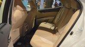 2018 Toyota Camry Hybrid rear seats at 2017 Dubai Motor Show