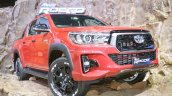 2018 Toyota Hilux Revo Rocco at Thai Motor Expo 2017 front angle close