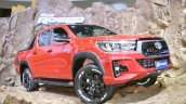 2018 Toyota Hilux Revo Rocco at Thai Motor Expo 2017 front angle view