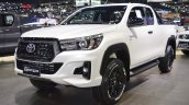 2018 Toyota Hilux Revo Rocco at Thai Motor Expo 2017 front three quarters