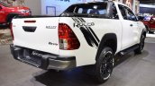 2018 Toyota Hilux Revo Rocco at Thai Motor Expo 2017 rear angle