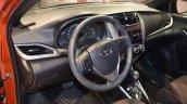2018 Toyota Yaris at Dubai Motor Show 2017 steering wheel