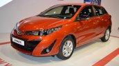 2018 Toyota Yaris at Dubai Motor Show 2017 three quarters
