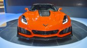 2019 Chevrolet Corvette ZR1 front at 2017 Dubai Motor Show
