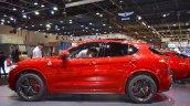 Alfa Romeo Stelvio Quadrifoglio profile at 2017 Dubai Motor Show