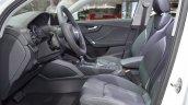 Audi Q2 front seats at 2017 Dubai Motor Show