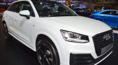 Audi Q2 front three quarters right side at 2017 Dubai Motor Show