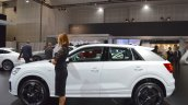 Audi Q2 left side at 2017 Dubai Motor Show