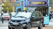 Autonomous Tata Hexa testing in the UK