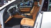 BMW 6 Series GT front seats at 2017 Dubai Motor Show