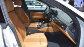 BMW 6 Series GT front seats passenger side view at 2017 Dubai Motor Show