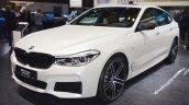 BMW 6 Series GT front three quarters at 2017 Dubai Motor Show