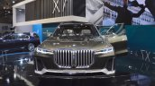BMW Concept X7 iPerformance front at 2017 Dubai Motor Show