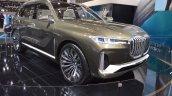 BMW Concept X7 iPerformance front three quarters at 2017 Dubai Motor Show