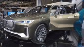 BMW Concept X7 iPerformance front three quarters left side at 2017 Dubai Motor Show
