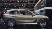 BMW Concept X7 iPerformance profile at 2017 Dubai Motor Show