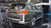 BMW Concept X7 iPerformance rear three quarters right side at 2017 Dubai Motor Show
