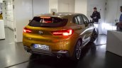 BMW X2 live images rear angle view