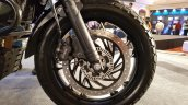 Bajaj Dominar 400 Trans Siberian Odeyssey bike front wheel