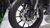 Benelli 402S at 2017 EICMA front wheel