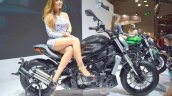 Benelli 402S at 2017 EICMA right side