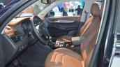 Borgward BX5 chrome front seats at 2017 Dubai Motor Show