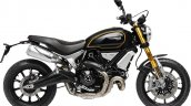 Ducati Scrambler 1100 Sport press shot right side