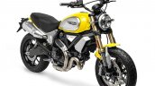 Ducati Scrambler 1100 press shot front right quarter
