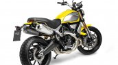 Ducati Scrambler 1100 press shot rear right quarter