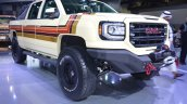 GMC Desert Fox Middle East concept front three quarters at 2017 Dubai Motor Show