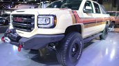 GMC Desert Fox Middle East concept front three quarters left side at 2017 Dubai Motor Show