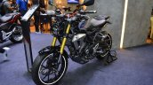 Honda CB150R ExMotion HRC edition front left quarter at 2017 Thai Motor Expo