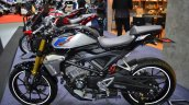 Honda CB150R ExMotion HRC edition left side at 2017 Thai Motor Expo