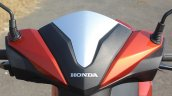 Honda Grazia first ride review handlebar cowl