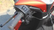 Honda Grazia first ride review left switchgear