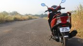 Honda Grazia first ride review rear