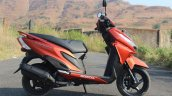 Honda Grazia first ride review right side